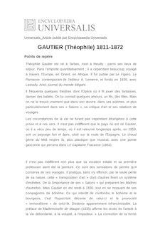 GAUTIER (Théophile) 1811-1872 -