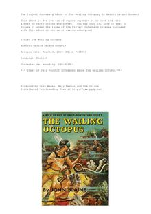 The Wailing Octopus