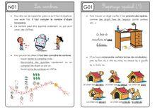 Mathématiques CP – Préparation des séances, leçons et fiches d'exercices - Période 1 – Cap Maths Unité 1 Leçons   fiche élèves   bilan1