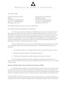 AAA comment letter on HR 3962