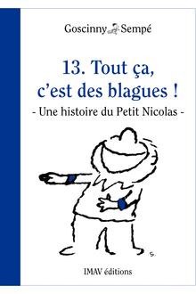 Tout ça, c'est des blagues! de René Goscinny, Jean-Jacques Sempé - fiche descriptive