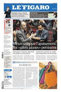 Le Figaro du 05-12-2018 - Le Figaro