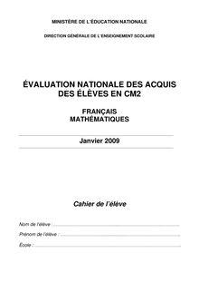 CM2 FRANÇAIS MATHÉMATIQUES