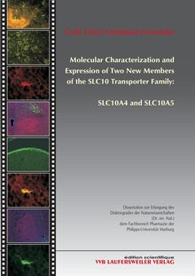 Molecular characterization and expression of two new members of the SLC10 transporter family: SLC10A4 and SLC10A5 [Elektronische Ressource] / vorgelegt von Carla Freire Celedonio Fernandes