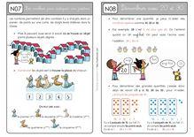 Mathématiques CP – Période 2 - Unité 5 Leçons