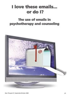 I love these emails...or do I? The use of emails in psychotherapy and  counseling