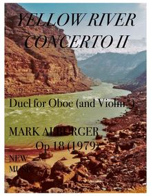 Partition hautbois , partie, Yellow River Concerto II, Duel for Oboe (and Violin or Percussion*)