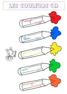 Outils pour la classe – Affichages fonctionnels - Les couleurs.