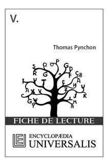 V. de Thomas Pynchon (Les Fiches de lecture d