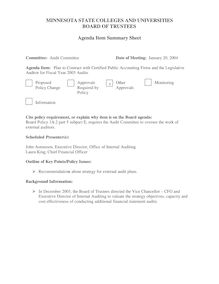 AUDIT - Agenda 3 - Strategic Planning -Final