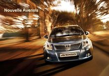 Catalogue de la Toyota Avensis