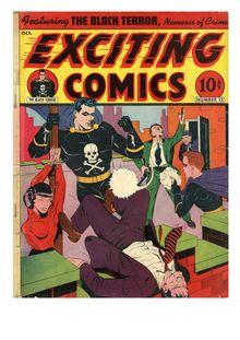 Exciting Comics 013 de  - fiche descriptive