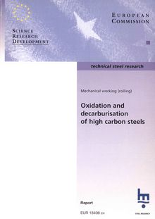 Oxidation and decarburisation of high carbon steels