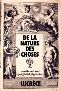 De la Nature des Choses