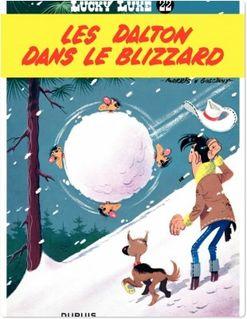 Lucky Luke - Tome 22 - LES DALTONS DANS LE BLIZZARD