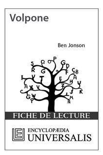 Volpone de Ben Jonson (Les Fiches de lecture d