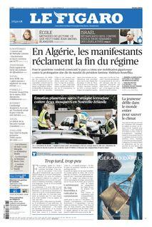 Le Figaro du 16-03-2019