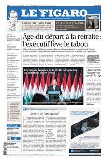 Le Figaro du 21-03-2019 - Le Figaro