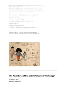 The Adventure of Two Dutch Dolls and a