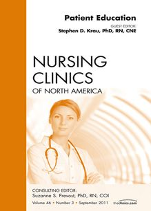 Patient Education, An Issue of Nursing Clinics - E-Book