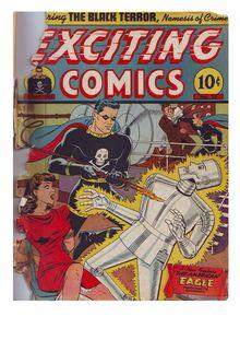 Exciting Comics 025 de  - fiche descriptive