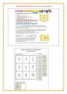 CE2 Période 3 Cap Maths CE2