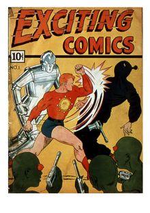 Exciting Comics 001 (fiche) de  - fiche descriptive