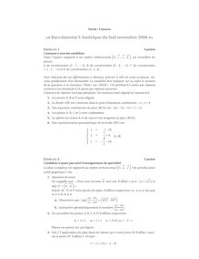 Bac mathematiques specialite 2006 s