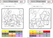 Autonomie – Fiches diverses - Béatrice Coloriages magiques