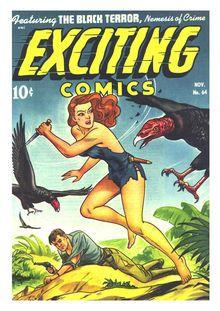 Lire Exciting Comics 064 (paper) -JVJ de