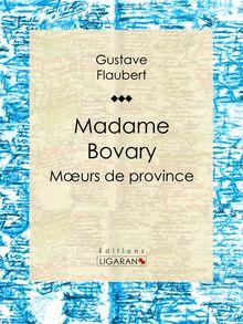 Madame Bovary de Gustave Flaubert, Ligaran - fiche descriptive