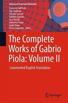 The Complete Works of Gabrio Piola: Volume II