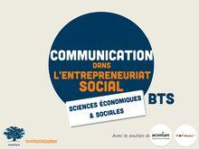 L'entreprise sociale : la communication