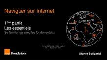 Naviguer sur Internet - 1ère partie