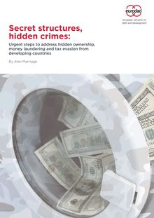 Eurodad report: Secret structures, hidden crimes (Offshore Leaks)