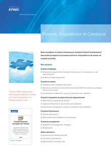 Fusions Acquisitions Cessions_2008:TP4_Newsletter_A4.QXD.qxd