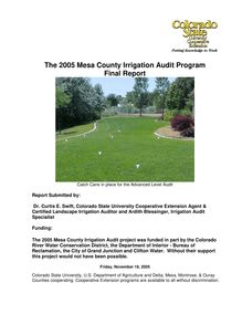 During the 2005 audit program, 67 audits were done, 15 of those were complete audits