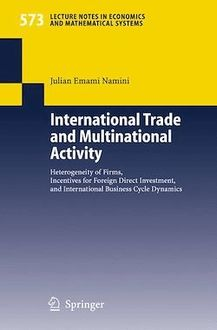 International Trade and Multinational Activity