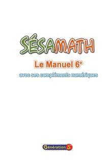 Manuel 6e