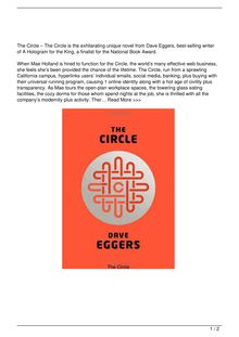 The Circle Book Reviews