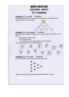 Maths CE1/CE2