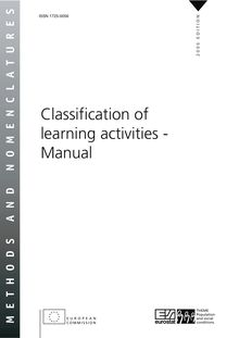 Classification of learning activities