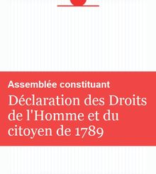 Déclaration des Droits de l'Homme et du citoyen de 1789