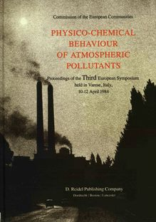 Physicochemical behaviour of atmospheric pollutants