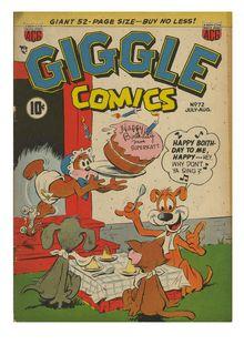 Giggle Comics 072 c2c de  - fiche descriptive