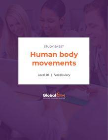 Human body movements