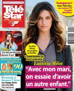 Télé Star du 07-10-2019 - Télé Star