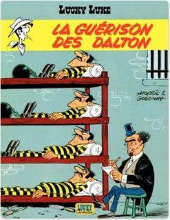 Lucky Luke - Tome 12 - Guérison des Dalton (La) - Goscinny