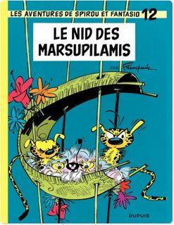 Spirou et Fantasio - Tome 12 - LE NID DES MARSUPILAMIS - Franquin