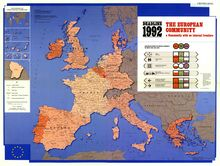 DEADLINE 1992 THE EUROPEAN COMMUNITY A Community with no internal frontiers